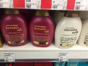 OGX shampoo and conditioner only £1.75 in ASDA
