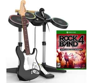 Rockband 4 - Full band kit for Xbox One/PS4 £139.99 at Currys/PCW