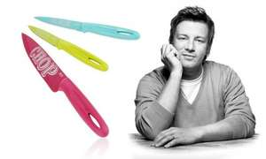 Jamie Oliver Knife Funky Set from £9.98 + £1.99 delivery @ Groupon