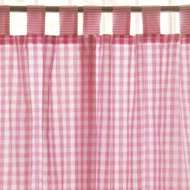 Long Gingham Curtains And Tie Backs, £15 delivered reduced from £49. Jojomamanbebe