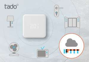 Rent Tado 4260328610077 Smart Thermostat V2 for 50% off: just £4.99 a month with £9.80 delivery - £69.68
