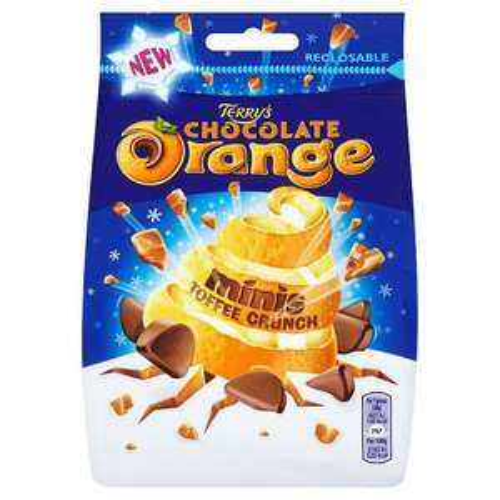 Terry's Chocolate Orange Minis Toffee Crunch 125g, 25p instore @Tesco