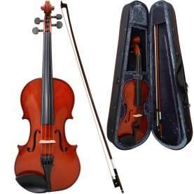 ALLIERI Violin (1/4, 1/2, 3/4 and full size) for beginners £25 + £4.45 delivery @ Dawsons