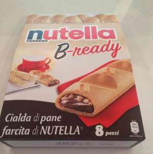 Nutella B-Ready Bars at Farmfoods £3