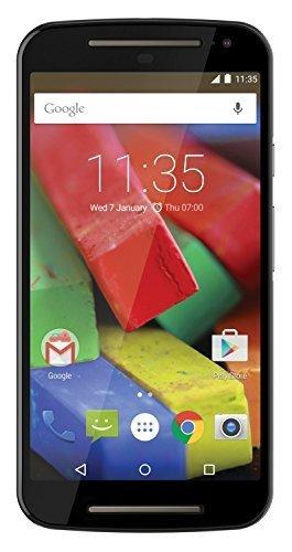 Motorola MOTO G 2nd Generation (5 inch Touch) 4G Mobile Phone Snapdragon (1.2GHz) 1GB-RAM 8GB Wi-Fi WWAN Bluetooth Camera Android 5.0 (Black) - SIM Free £102.89 @ Kikatek