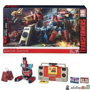 Old skool - Transformers Platinum Edition Intel Ops Perceptor and Blaster @A1 toys Instore and on line £49.99