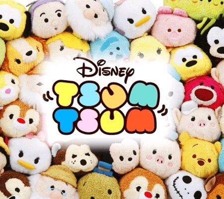Disney Tsum Tsum soft toys only 75p each @ Wilkos