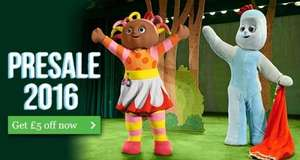 In the Night Garden Live - Presale Access and £5 or 5% off