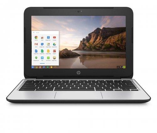 HP Chromebook 11 G4 (11.6 inch) Notebook PC Celeron (N2840) 2.16GHz 4GB 16GB eMMC WLAN BT Webcam Chrome OS (HD Graphics) - £169.90 - Lightening Deal + £30 cashback available = £139.90