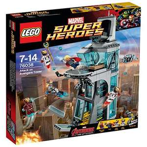 LEGO Super Heroes Attack on Avengers Tower 76038 £42.97 @ JL