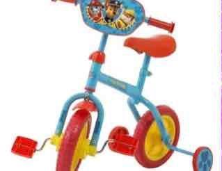 paw patrol 2 in 1 bike £15 @ tesco
