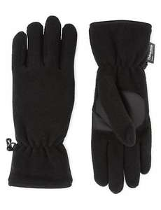 M&S COLLECTION Fleece Gloves with Thinsulate reduced from £7.50 now £1.99
