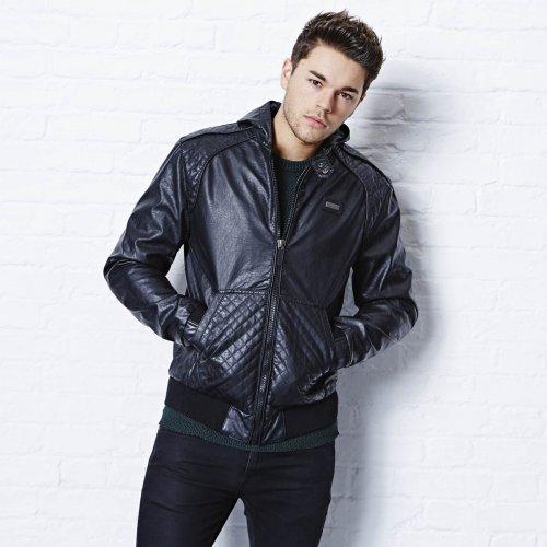 Ecko PU Hooded Jacket £10 Instore @ Original Factory Shop
