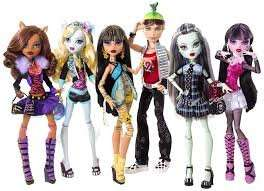monster  high dolls  from £4.99 instore @ toys r us