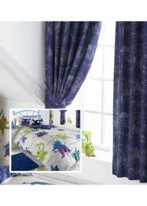 Kids double bedding and curtain sets £20.90 @ Childrens Rooms