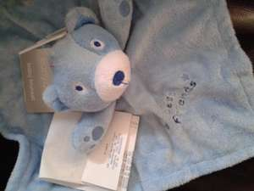 Blue baby blanket/ comforter at Primark