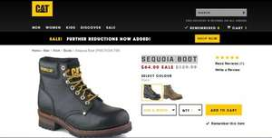 Caterpillar footwear sale up to 50% off / Free p&p @ CAT
