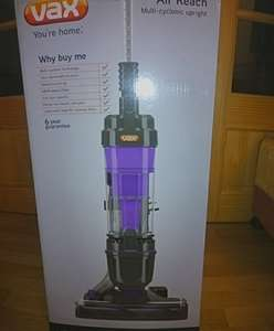 Vax Air 3 Reach U90-MA-Re Vacuum Cleaner £72 @ Sainsburys (instore)