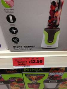 Breville Blend Active® Single Bottle VBL075 £12.50 @ Sainsburys (Muirend, Glasgow)