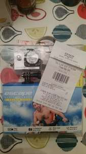 Kitvision escape HD5 Action Camera and Selfie Stick £17.00 at Tesco direct