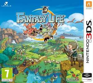 Fantasy life 3ds New £19.96 toys r us instore and online