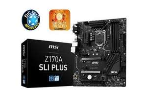 MSI Z170A SLI PLUS (Skylake) Motherboard £109 Delivered (£91 after £18 Cashback) @ Dabs
