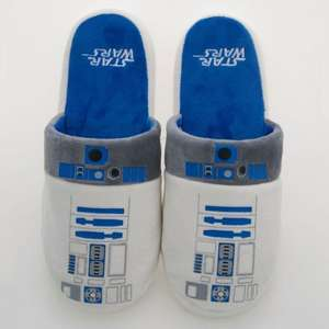 R2-D2 slippers £4.99, free click and collect at Menkind