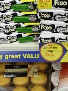 8 Packets of Fox's Malted Milk Biscuits 50p @ 99p Store