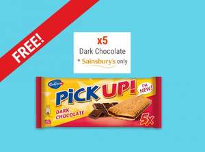 Free - Bahlsen DARK CHOCOLATE (5X28G) @ Sainsburys - cashback with Shopitize