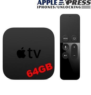 Apple TV 4 64gb £129 @ eBay appleexpress2013