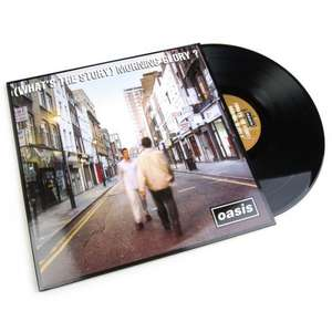 "(What's the Story) Morning Glory? 12"" Vinyl - £24.99 @ HMVStore"