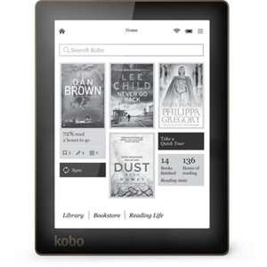Kobo Aura E-reader with free Black Case. £55.99 @ Argos