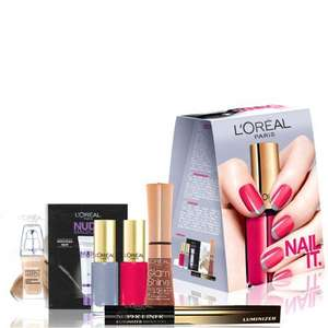 L'oreal Gloss it! Nail it! Wing it! Set - £9.60 delivered @ lookfantastic