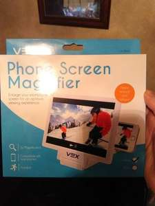 vex phone screen magnifier £1 @ Poundworld