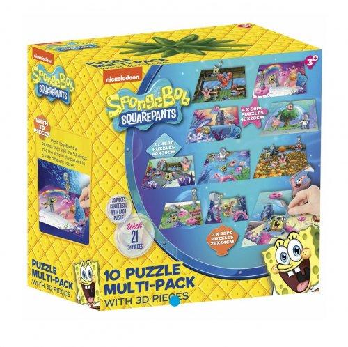 Spongebob Mega Puzzle Pack £3.75 @ Tesco free C&C