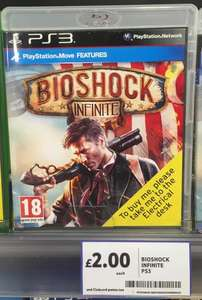 Bioshock Infinite (PS3) £2 @ Tesco Instore