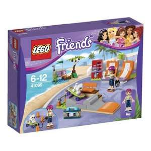LEGO 41099 Friends Heartlake Skate Park £11.99  (Prime) / £15.98 (non Prime)  @ Amazon with free delivery (in stock 23rd Janaury)
