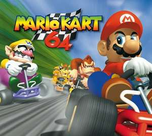 Mario Kart 64 £8.99 [Wii U Virtual Console - Released Thursday] @ Nintendo eShop