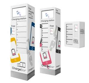ChargeBox - Charge your phone for free for 30 mins at many shopping centres in UK in secure locker