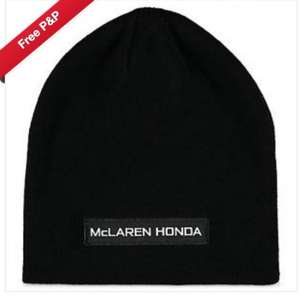 Official McLaren Honda F1 beanie hat Was £24.99 now £5 Free delivery @ ebay / Mclaren