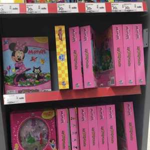 Minnie Mouse busy book. £2. In store. Asda.