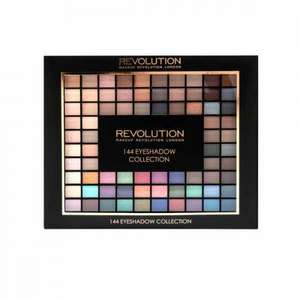 144 piece eyeshadow set 2016 - £10 + £2.95 delivery (or free over £30 spend) @ Makeup Revolution (same set is currently £20 at Superdrug!)