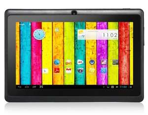 "Q8 PRO 7.0"" Capacitive G+G Touch Screen 800x480 Android 4.4 Dual Core A33 1.5GHz Tablet PC with Wi-Fi, Dual Camera (4GB) (Black) £26.77 @ focalprice"
