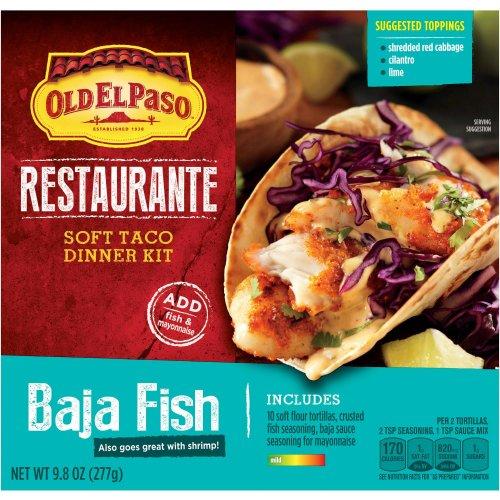 320g Old El Paso Restaurante Soft Taco Kit - Baja Fish £0.69 @ B&M