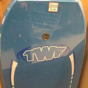 large surfing board £1 at Sainsburys instore