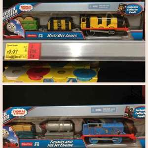 Busy bee James and Thomas and the jet engine for £9.97 or 2 for £14 in Asda store