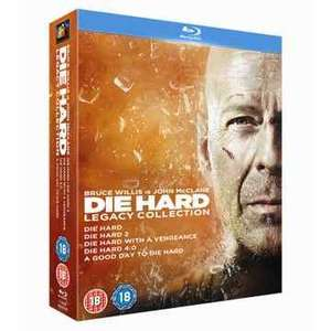 Die Hard 1-5 Legacy Collection (Blu-Ray) £8.10 Delivered (Using Code) @ Fox Direct Via Rakuten