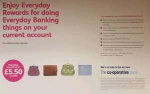 Co-Operative Bank Current Account..earn up to £5.50pm