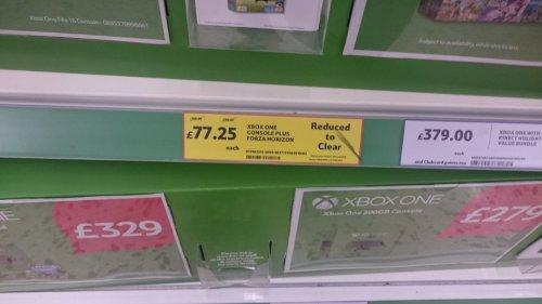 Xbox One Console plus Forza Horizon 2 Bundle £77.25 @ Tesco instore