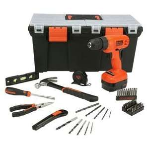Black & Decker Cordless Drill and Tool Set £34.99 @ Argos (or cheaper with Flubit)